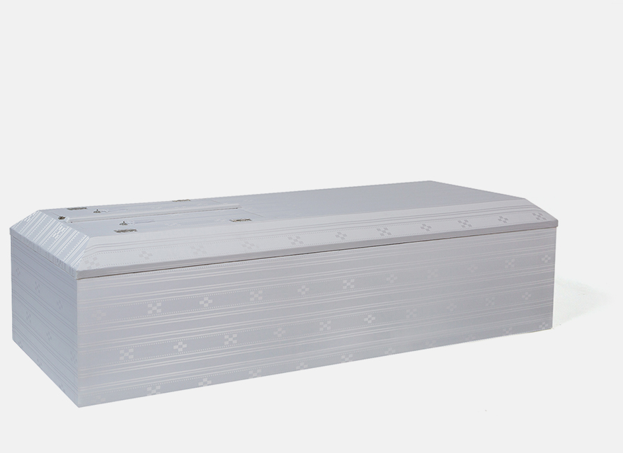 布張山型棺 ミンサーホワイト